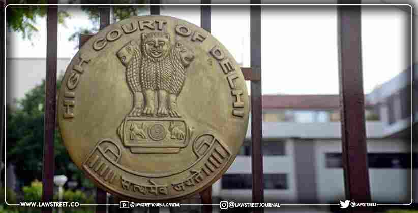 Delhi HC Issues Notice To The Union Of India…